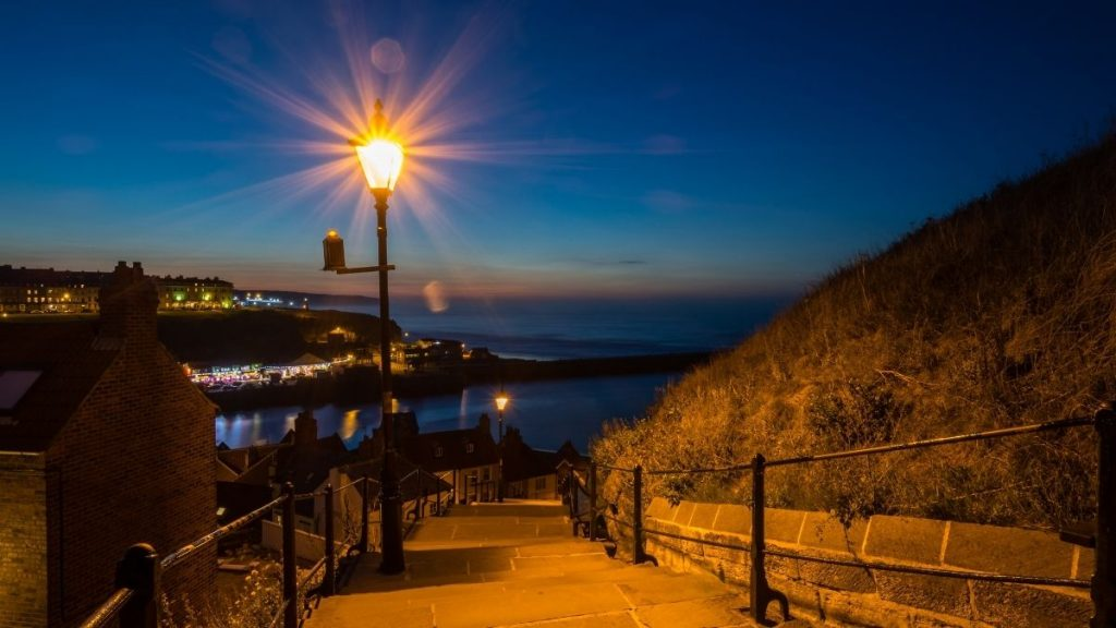 199 Steps at night, a huge inspiration for Bram Stoker & Dracula