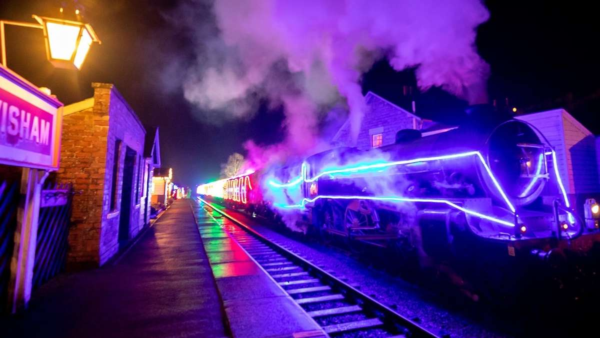 North York Moors Railway Light Spectacular
