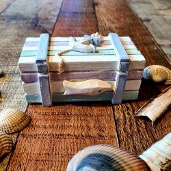 Small Wooden Beach Chest