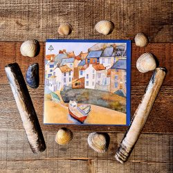 Staithes Greetings Card
