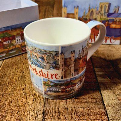 Yorkshire Bone China Mug With Gift Box