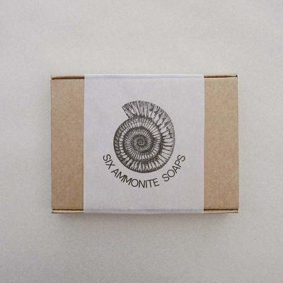 Six Whitby Ammonite Soaps