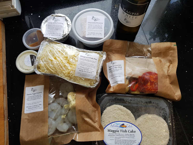 The Magpie Cafe cook at home kit