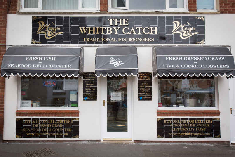 The Whitby Catch fishmongers