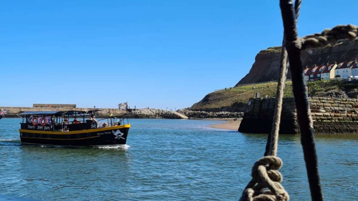 Whitby Pirate Boat Trip