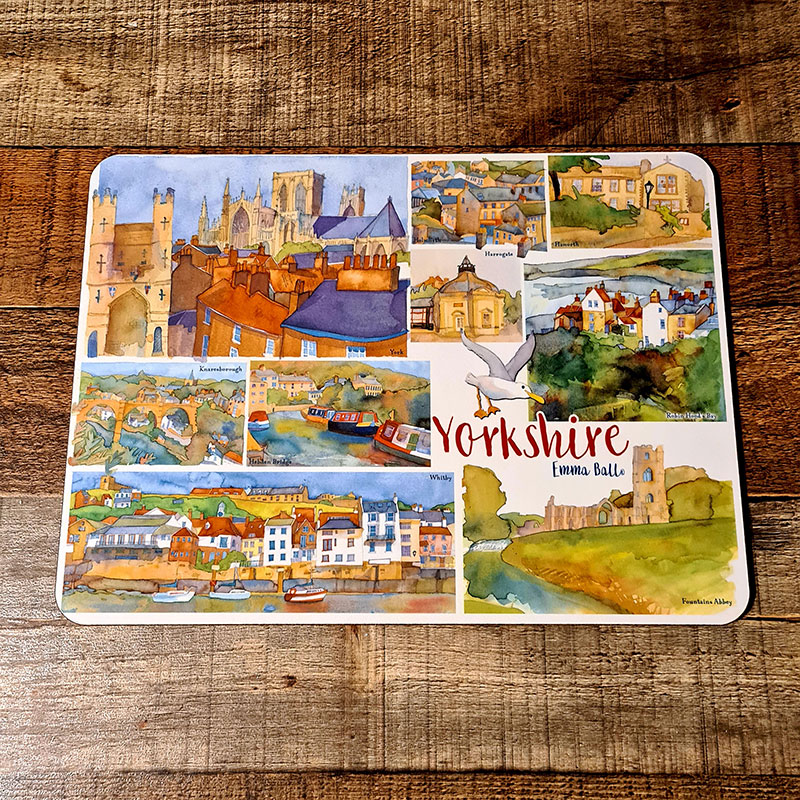 Emma Ball Yorkshire Placemats