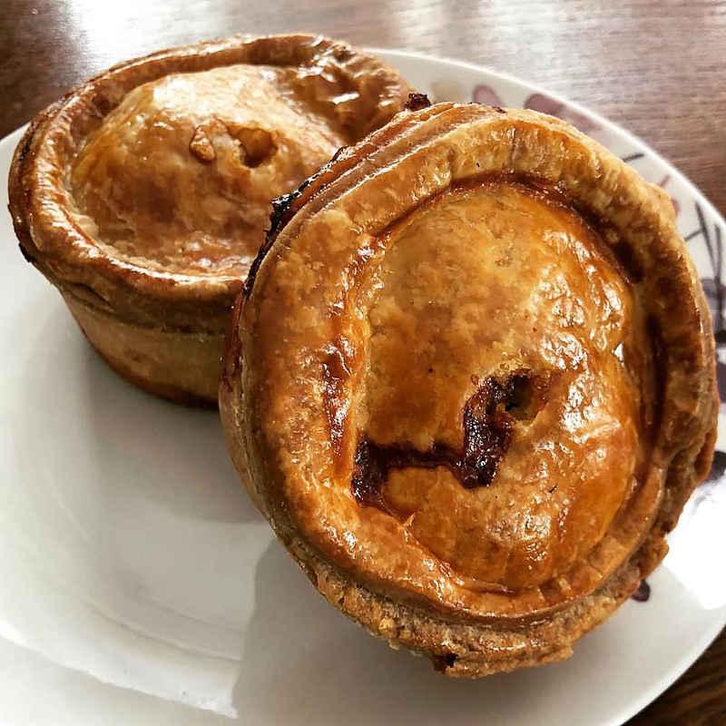 Botham's of Whitby pork pies