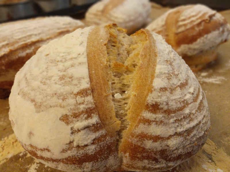 Bothams of Whitby sourdough loaf