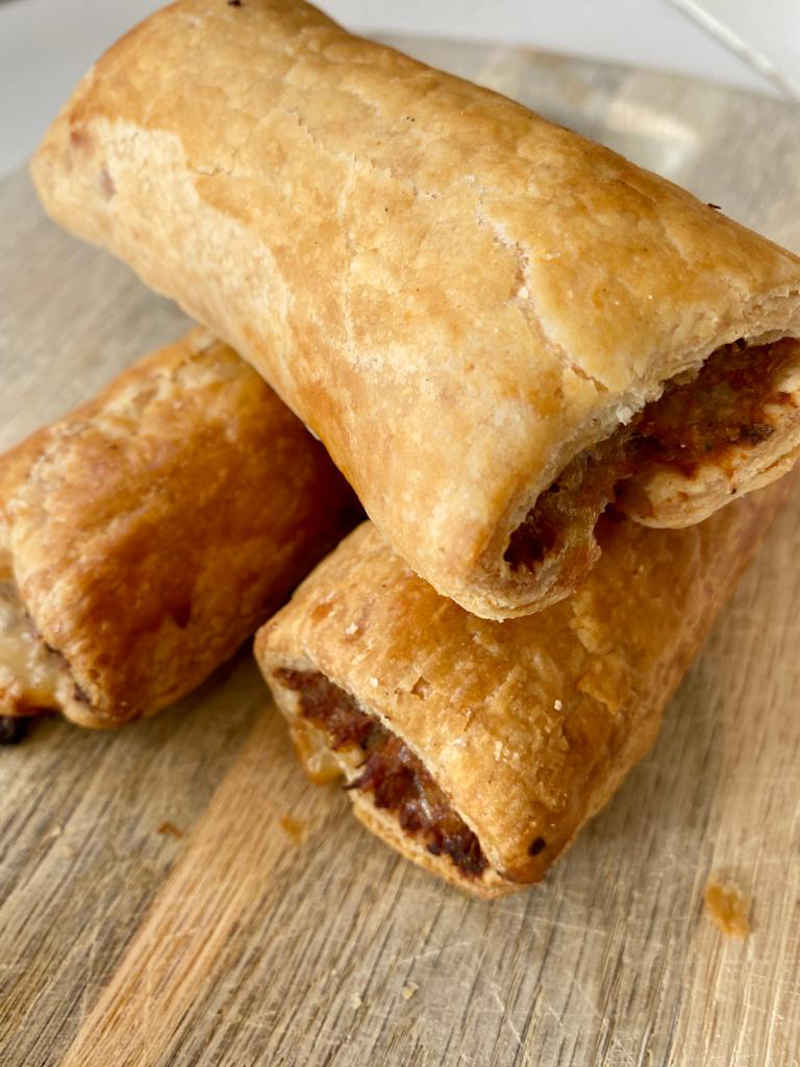 Bothams of Whitby sausage roll