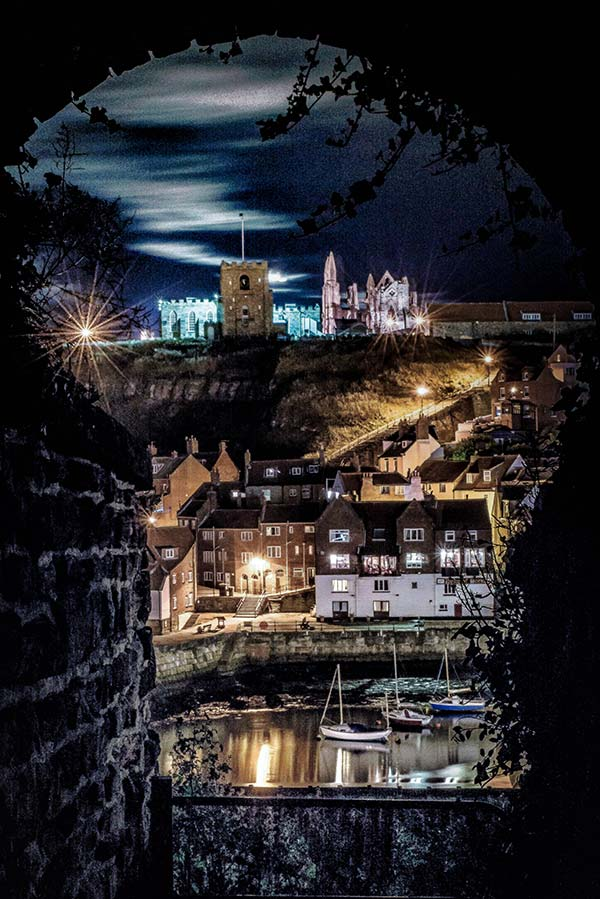 Moonlight Over Whitby