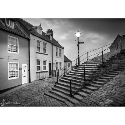Church Street And The 199 Steps Canvas