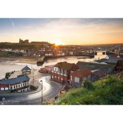 Good Morning Whitby Canvas