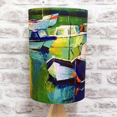 'Anchored' Lampshade By Whitby Artist Kate Smith