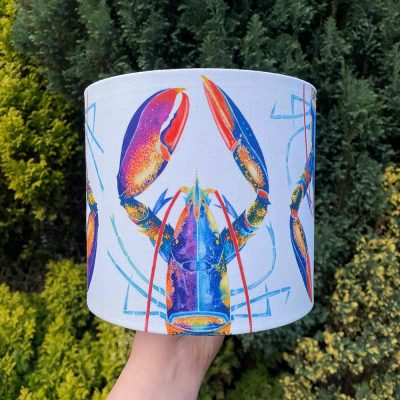 Kate Smith Lobster Lampshade