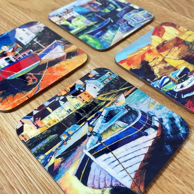 Staithes Coasters Gift Set