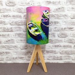 'Still Waters' Lampshade By Whitby Artist Kate Smith