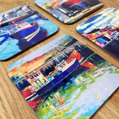 Whitby Coasters Gift Set