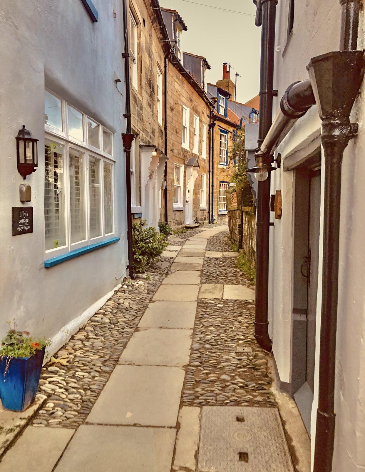 Robin Hood's Bay Cobbled Street