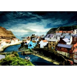 Staithes Art Limited Edition Print