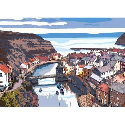 Staithes Limited Edition Print