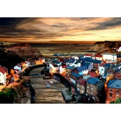 Staithes Special Edition Art Print