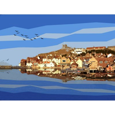 Whitby Harbour Limited Edition Print