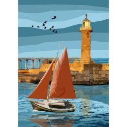 Whitby Lighthouse Limited Edition Print