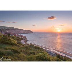 Robin Hood's Bay Summer Sunrise Canvas