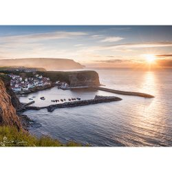 Staithes Harbour Canvas