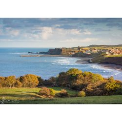 Whitby View From Lythe Bank Canvas