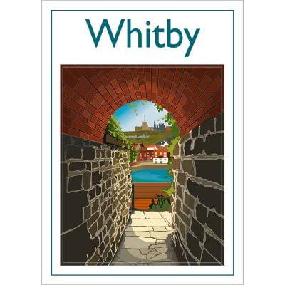Whitby Keyhole Digital Art Print