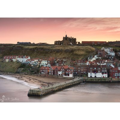 Whitby East Cliff Canvas