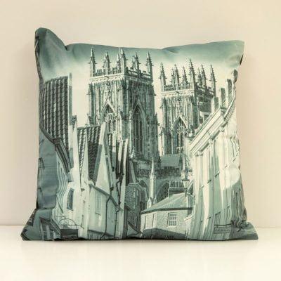 York Double Sided Velvet Cushion