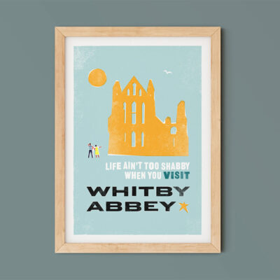 Life ain't shabby when you visit Whitby Abbey