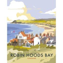 Robin Hood's Bay Digital Art Print By Dave Thompson