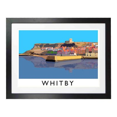 Whitby Harbour by Richard O'Neill