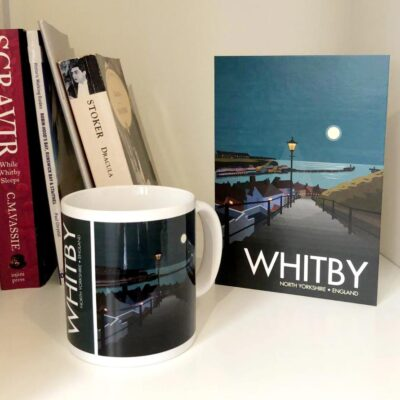 Whitby 199 Steps Greeting Card