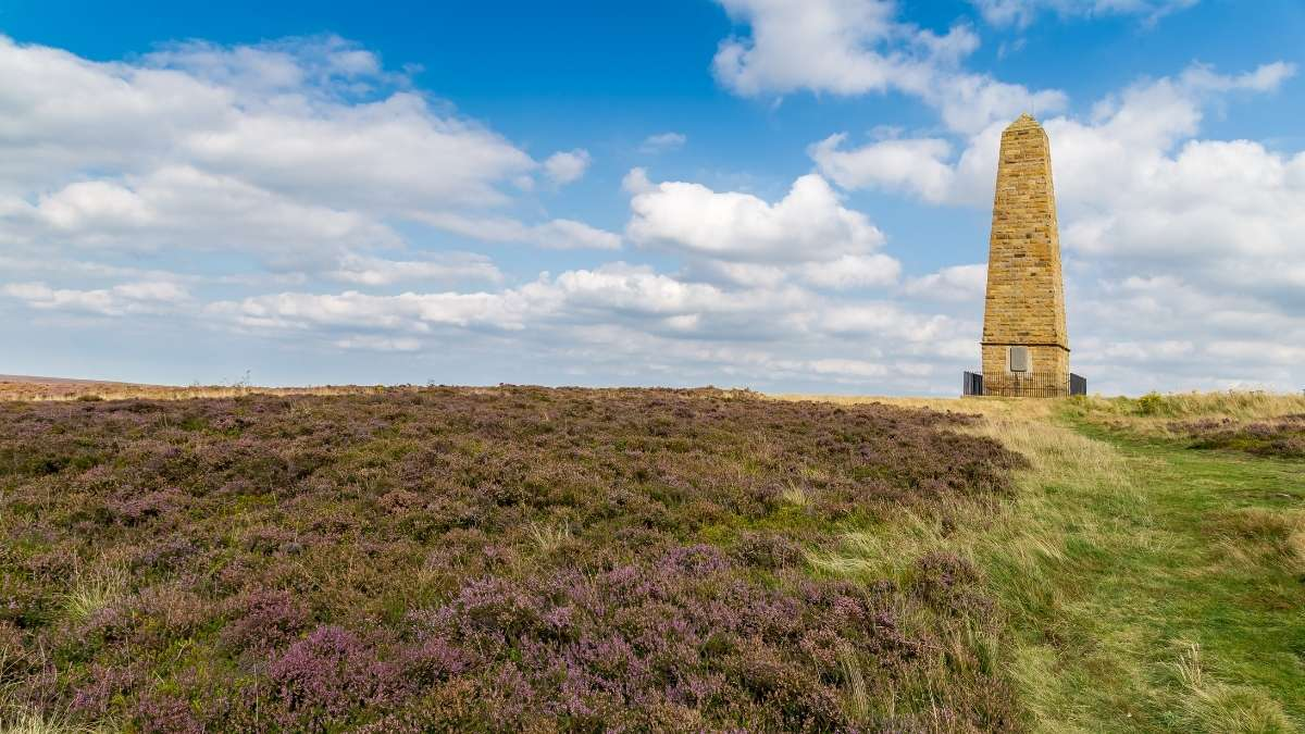 Captain Cook Monument in the North York Moors