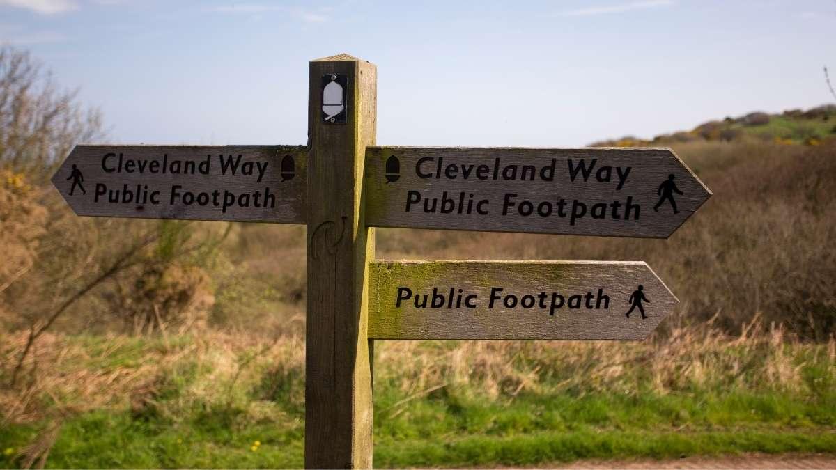 Cleveland Way Public Footpath