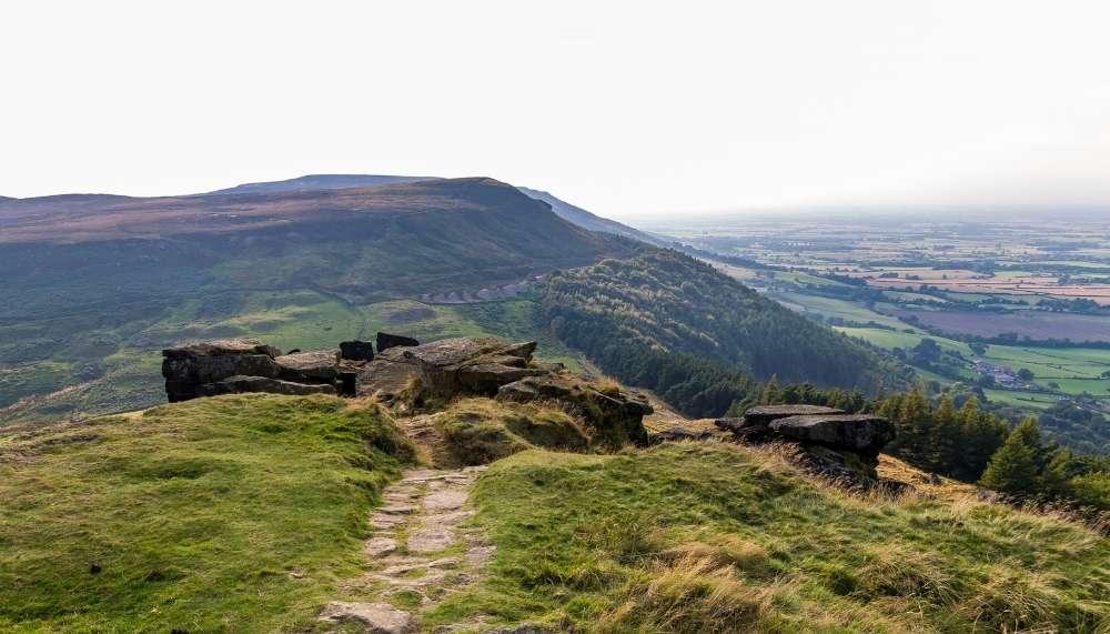 Wainstones Walk in the North York Moors