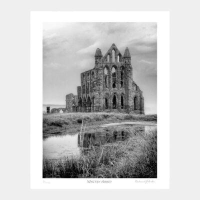 Whitby Abbey Art Print