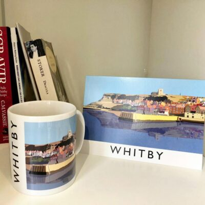 Whitby Harbour Greeting Card By Richard O'Neill