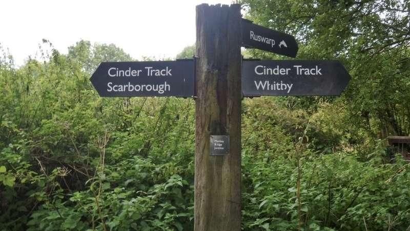 Cinder Track Copyright Michael Dibb
