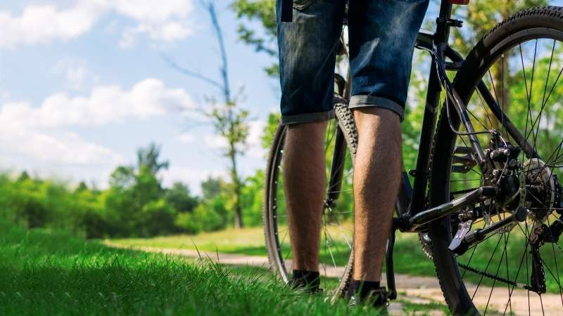 Cinder Trail Bike Ride