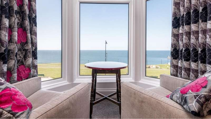 Luxury sea view accommodation at Riviera Guesthouse