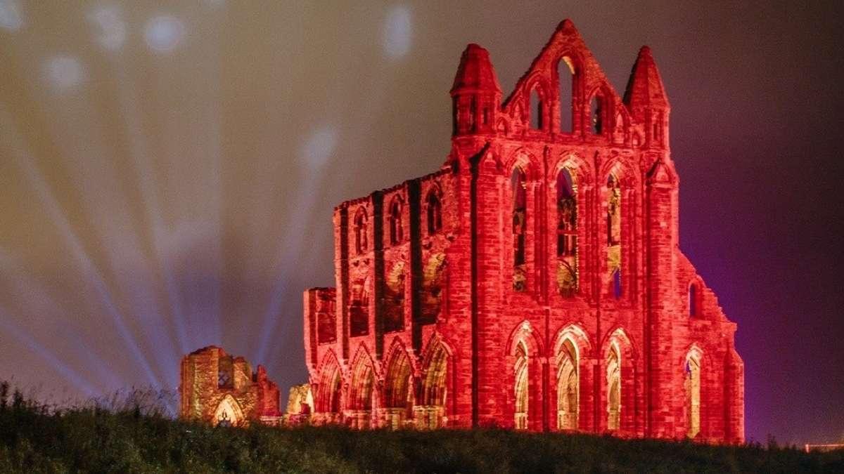 Whitby Illuminated Abbey