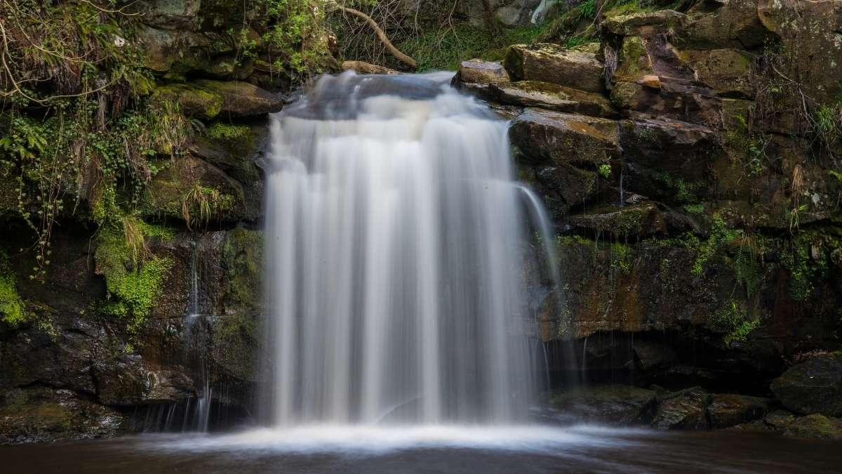 North York Moors Waterfall Thomason Foss